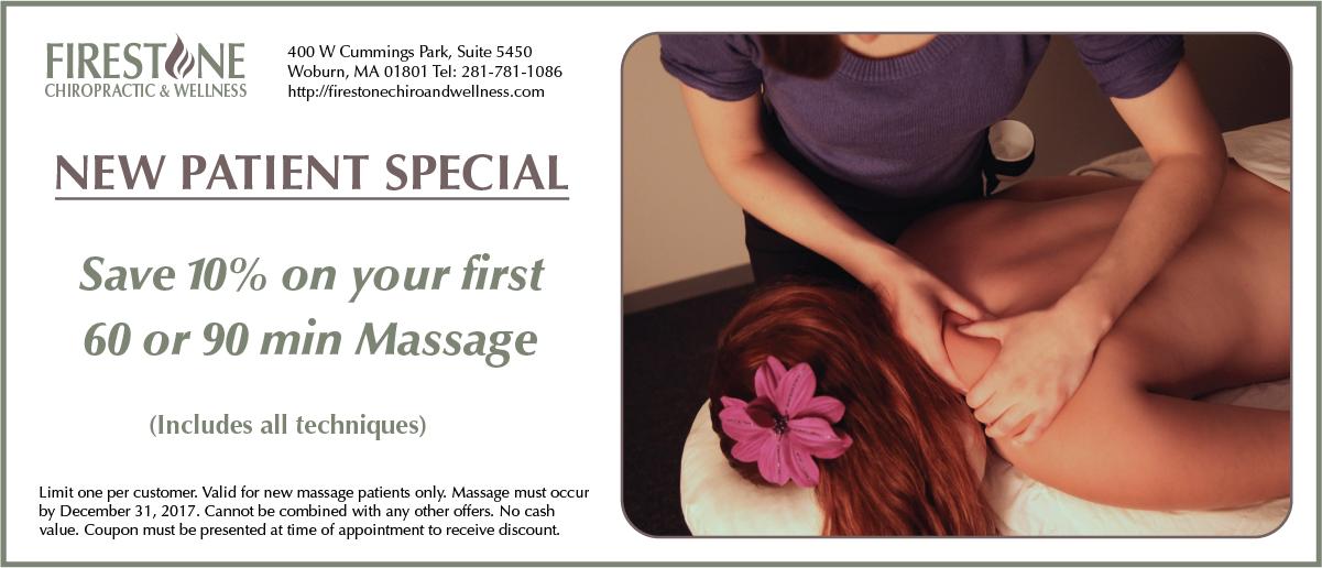 New Patient Massage Special
